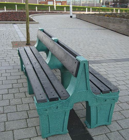 recycled plastic furniture