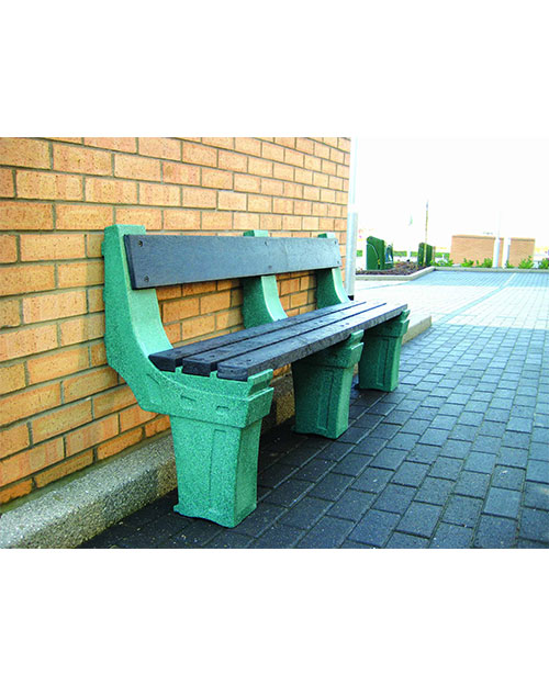 Four-Person-Wall-Mounted-Seat-Emerald