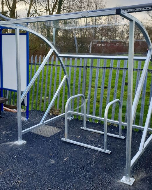Spectrum cycle shelter