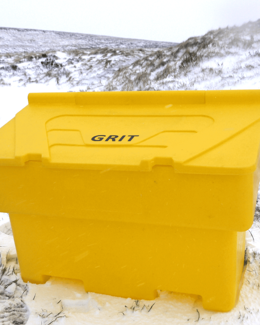 200L Arctic Grit Bin
