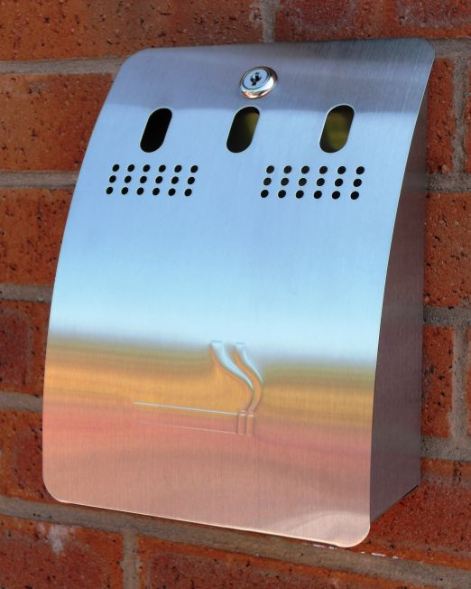 Cigarette Bins & Ashtrays