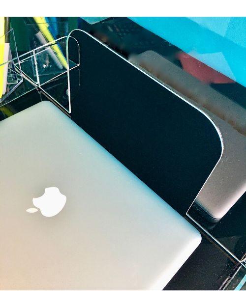 Office desks protective screens