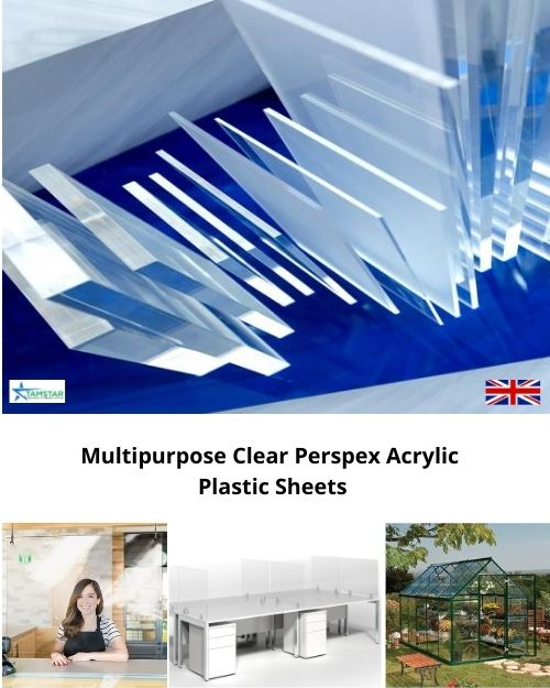 Perspex 3mm acrylic sheets